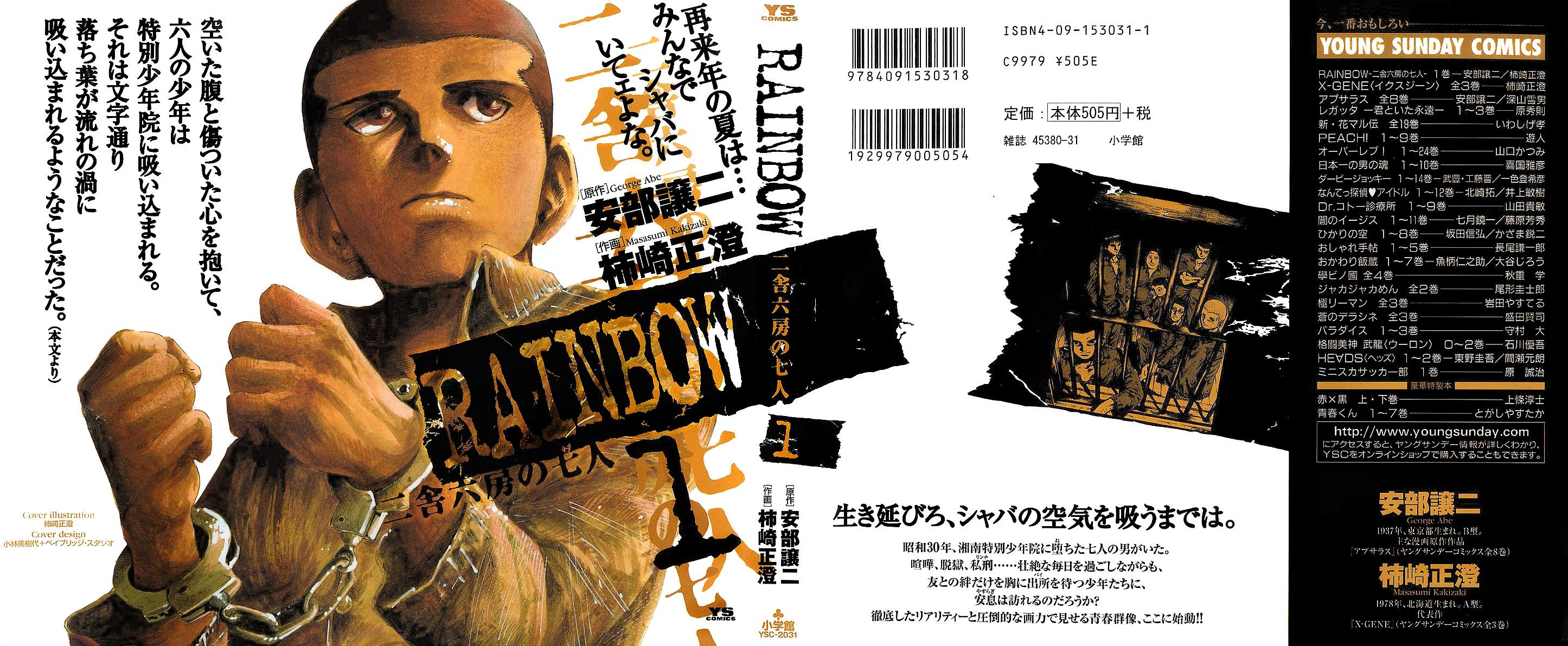 https://nine.mangadogs.com/br_manga/pic/57/6329/6492194/RainbowNishaRokubounoShich_0_609.jpg Page 1
