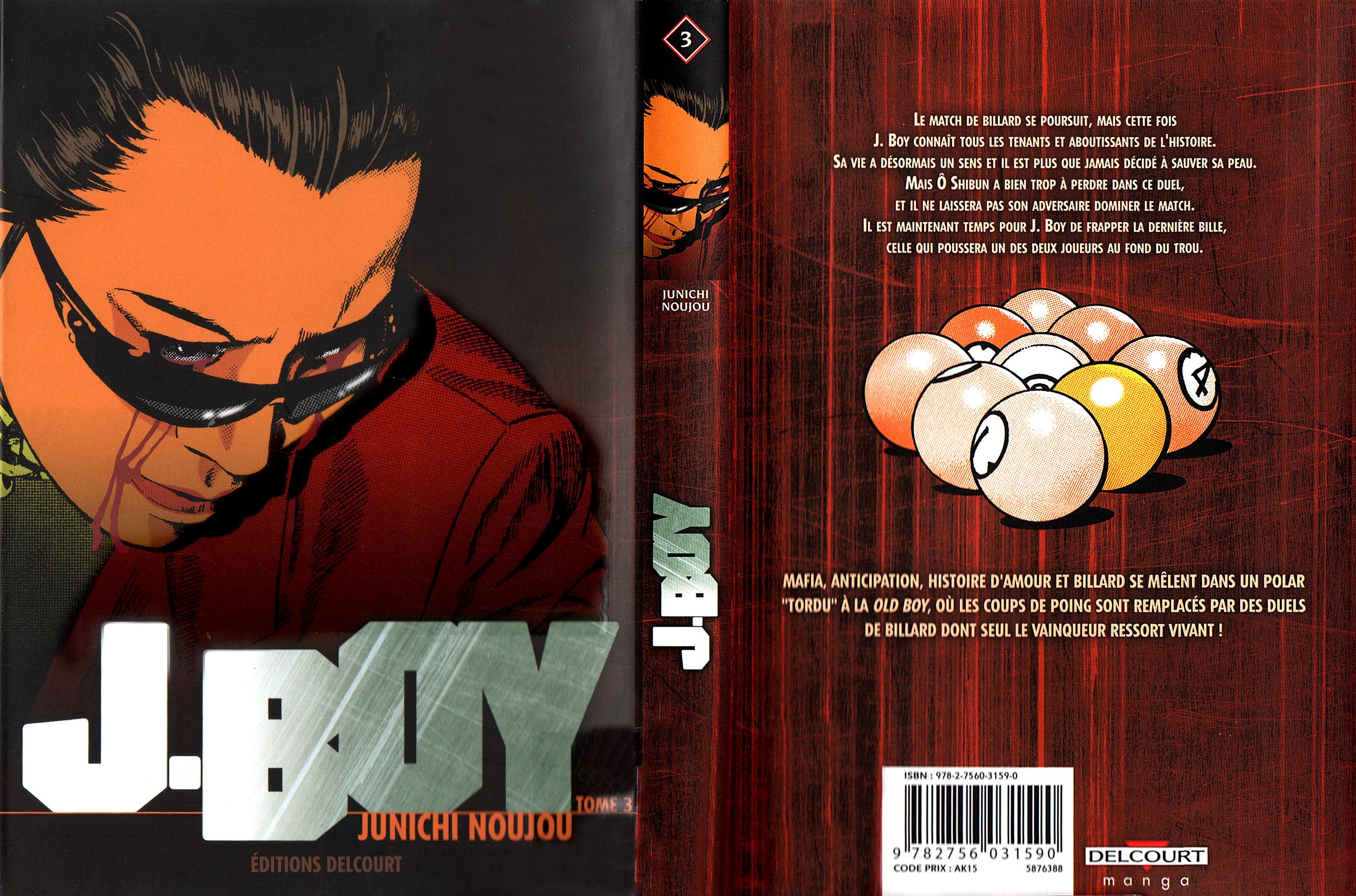 J. Boy Volume 3 VF