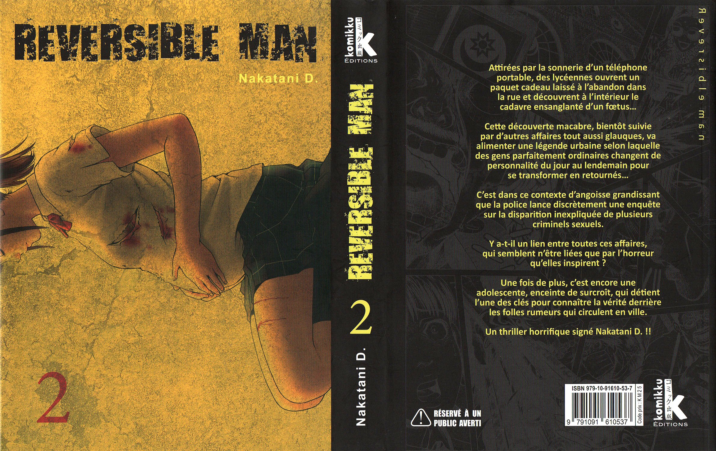 Reversible Man Volume 2 VF