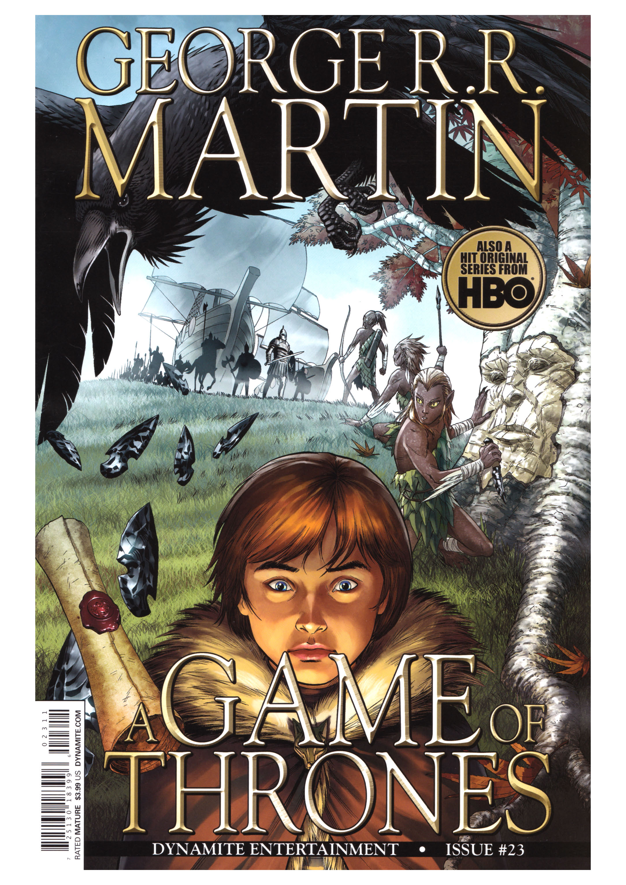 Comic Game Of Thrones Game Of Thrones Volume 23 VF