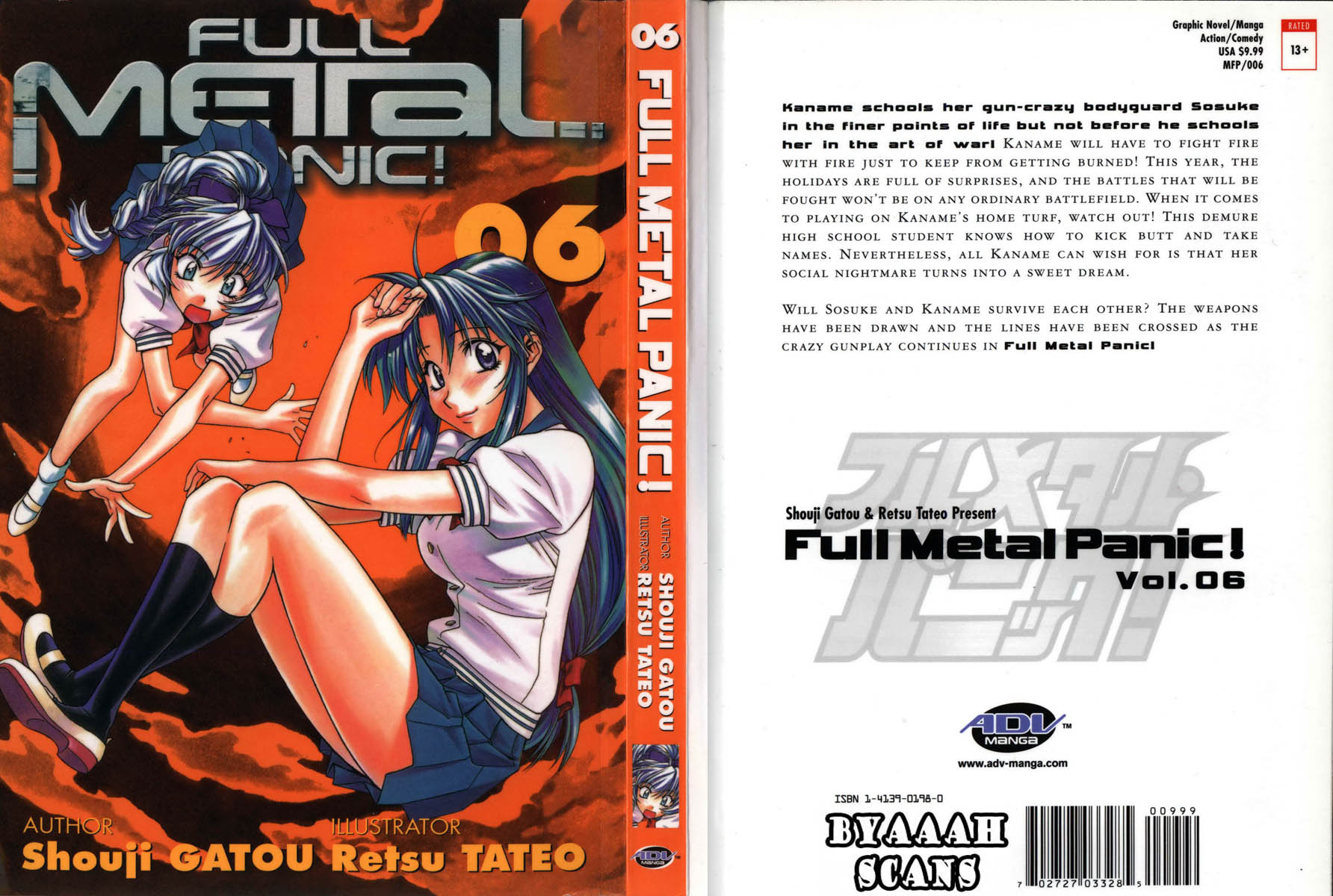 Full Metal Panic Volume 6 VF