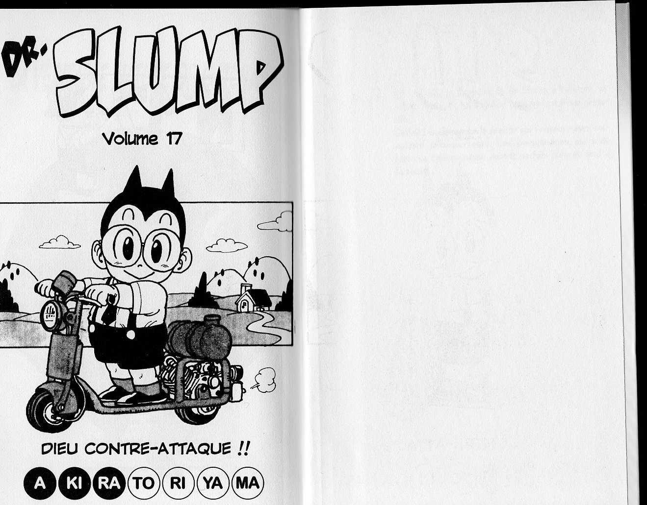 https://nine.mangadogs.com/fr_manga/pic1/57/761/37108/DrSlumpVolume17VF_0_322.jpg Page 1