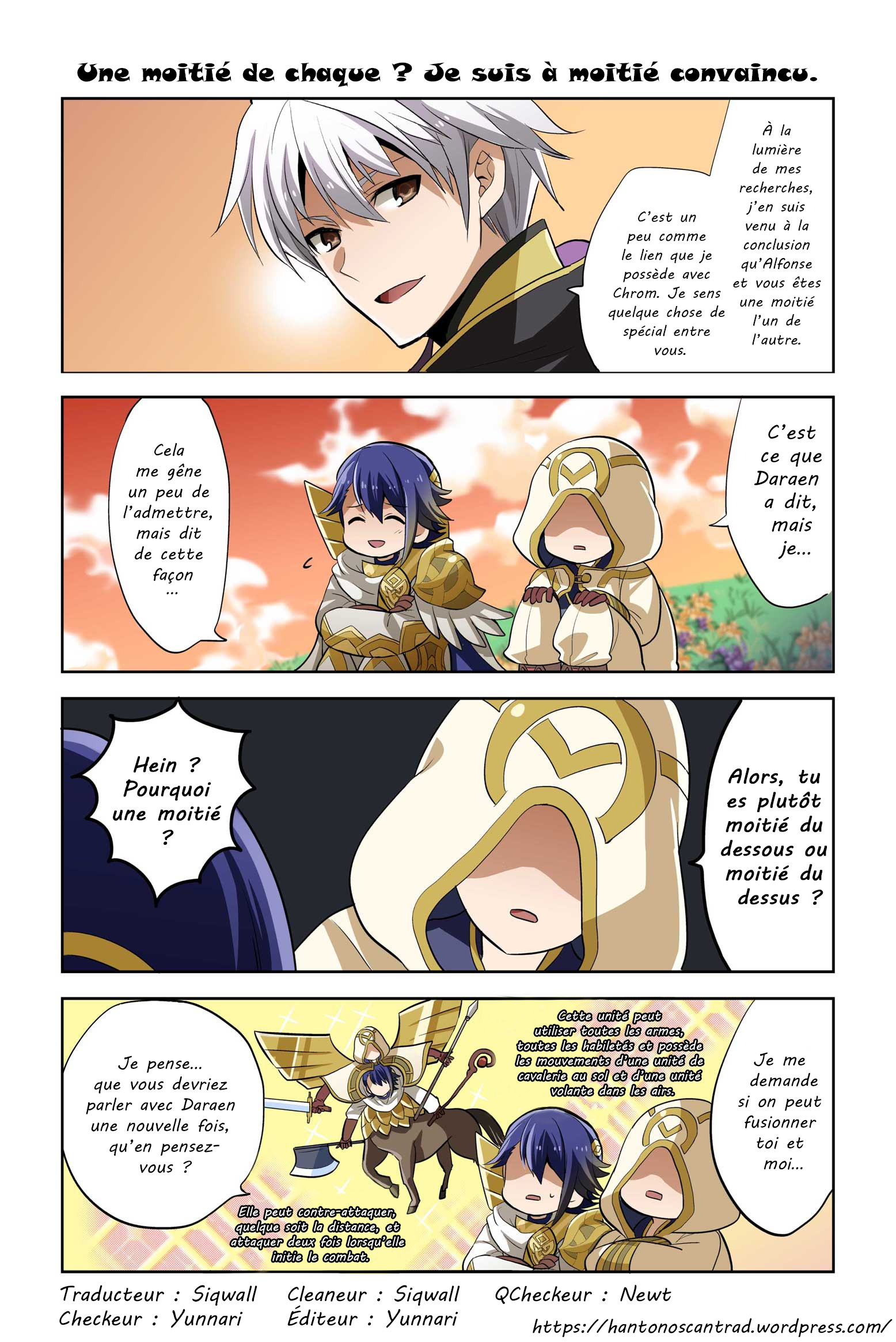 Fire Emblem Heroes: Daily Lives Of The Heroes 15 VF