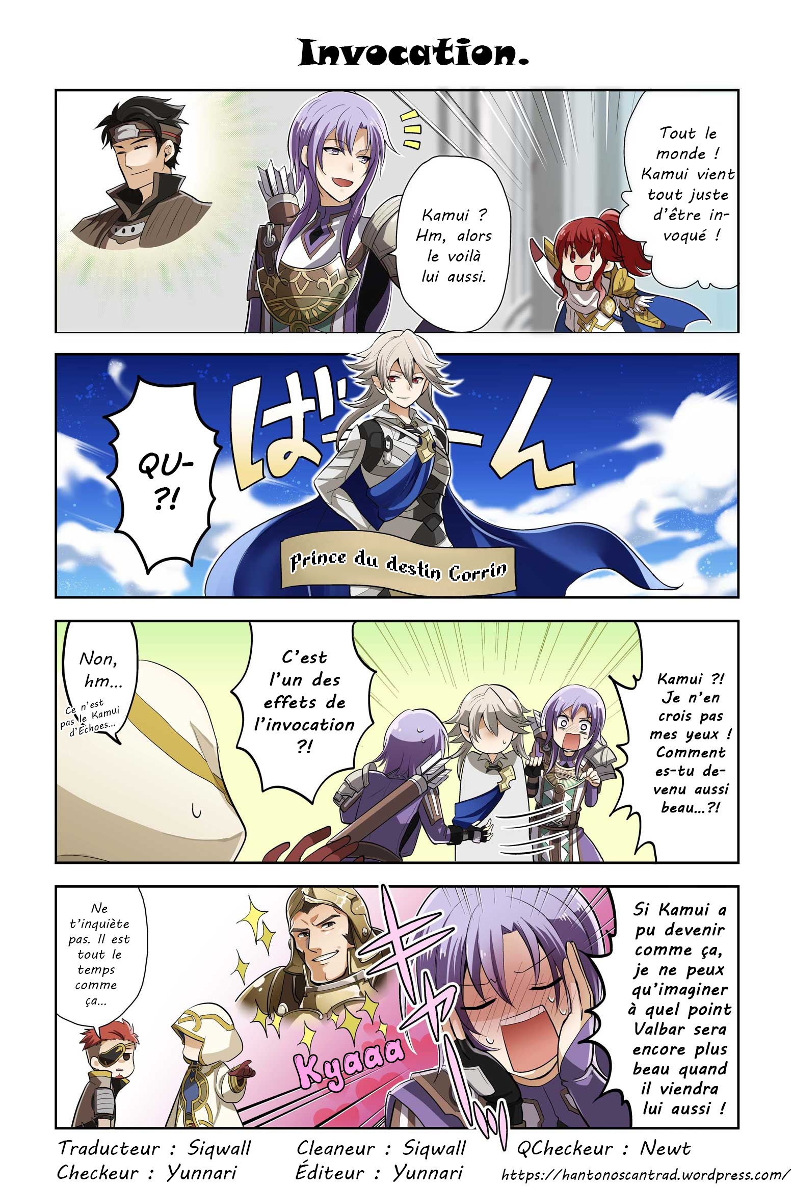 Fire Emblem Heroes: Daily Lives Of The Heroes 21 VF